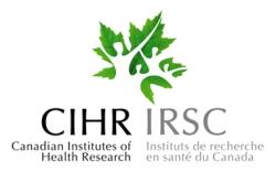 Canadian Institutes of Health Research (CIHR)
