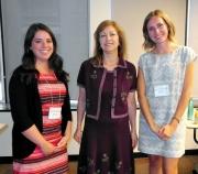 Alissa Fingold, Dr. Angela Colantonio, & Jenna Gourdeau