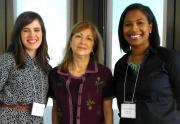 Dayna Jones, Dr. Angela Colantonio, & Tracey Joseph